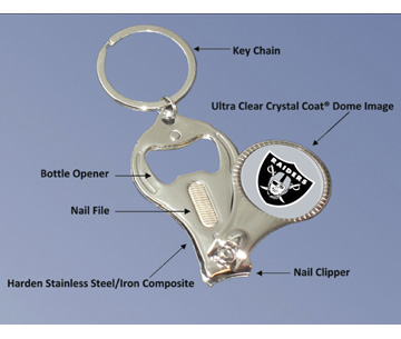 3 IN 1 KEYCHAIN
